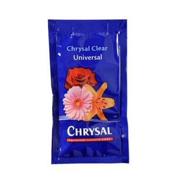 CHRYSAL CLEAR FLOWER FOOD PACKET 100 X 1 QT